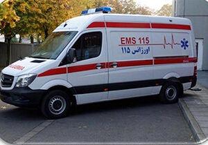 عکس خبري -تردد برخي از مسوو لان با آمبولانس