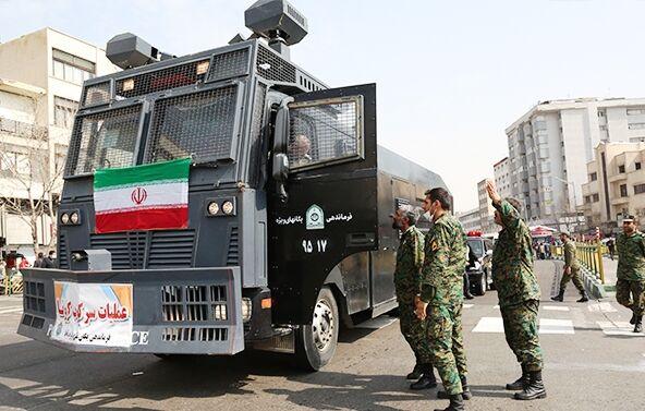 عکس خبري -ناجا طرح ضدعفوني کردن معابر را آغاز کرد