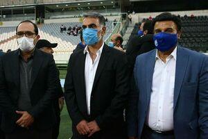 عکس خبري -مظلومي: متاسفم براي كساني كه نام خود را فوتباليست ملي گذاشتند