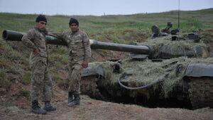 عکس خبري -حضور پ ک ک با لباس ارتش ارمنستان در جنگ قره باغ