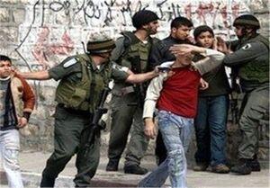 عکس خبري -کودکان فلسطيني زير آتش سلاحهاي کشنده صهيونيستها