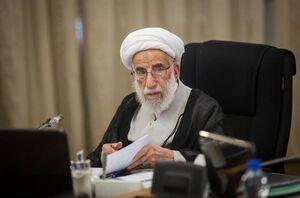 عکس خبري -آيت الله جنتي: مرحوم يزدي از چهرههاي اثرگذار نظام بود