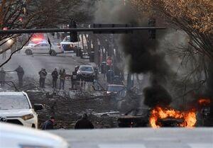 عکس خبري -پليس آمريکا: انفجار در نشويل عمدي بود