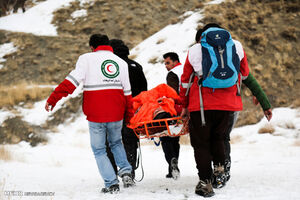 عکس خبري -جان باختن ? نفر بر اثر ريزش بهمن و سقوط از ارتفاعات کوهستاني