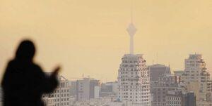 عکس خبري -هواي تهران دوباره آلوده شد