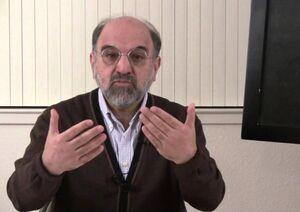 عکس خبري -منافق مدعي روشنفکري ديني نقاب از چهره انداخت