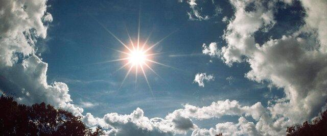 عکس خبري -باد و آفتاب مدام، ميهمان قم تا آخر هفته