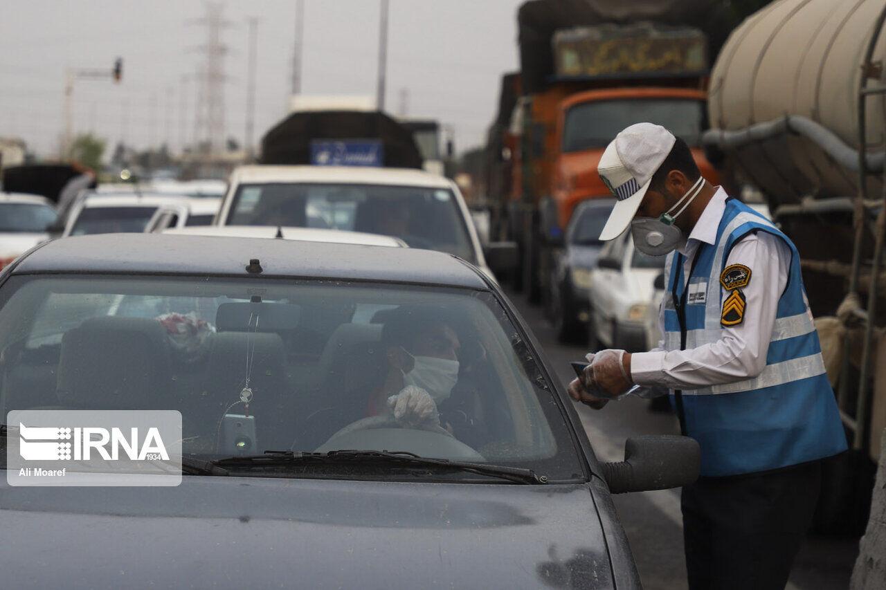 عکس خبري -بيش از ??? هزار راننده در طرح محدوديت شبانه جريمه شدند