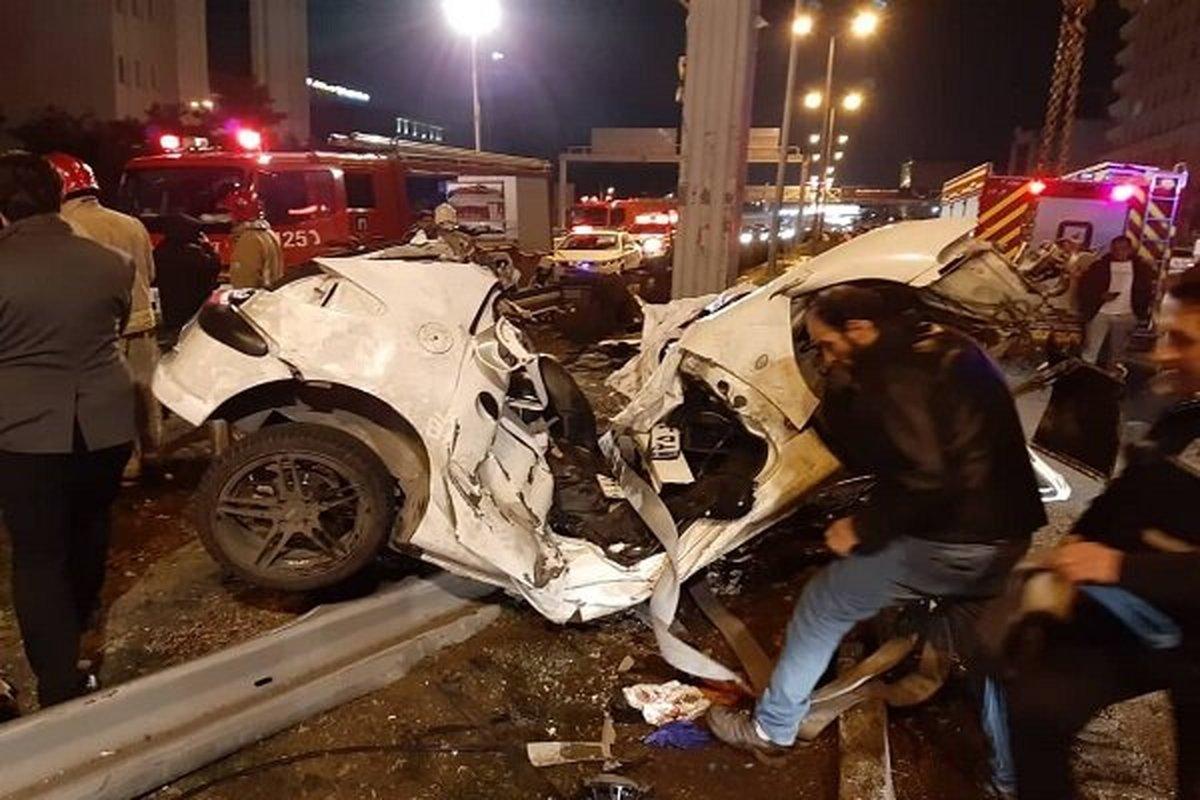 عکس خبري -?? درصد از تصادفات منجر به فوت شهر تهران در تاريکي هوا رخ مي دهد