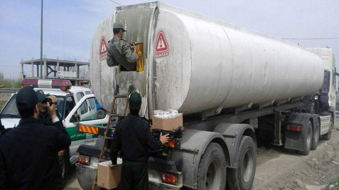 عکس خبري -فرمانده انتظامي: ?? هزار ليتر گازوئيل قاچاق در همدان کشف شد