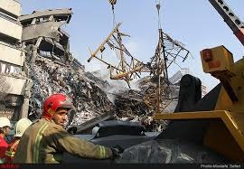 عکس خبري -چهارمين سالگرد حادثه کشته شدن ?? آتشنشان و ? کارگر ساختمان پلاسکو