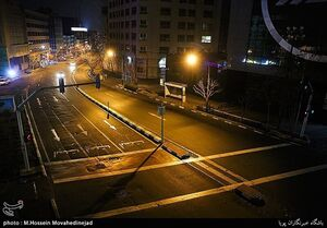 عکس خبري -آيا پايتخت محدوديت تردد دارد؟
