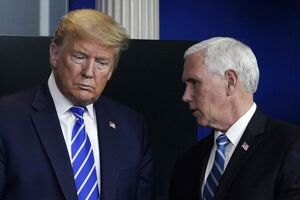 عکس خبري -خودداري پنس از شرکت در همايشي با حضور ترامپ