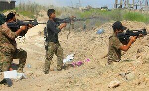 عکس خبري -آغاز درگيريهاي شديد ارتش و داعش در «الطارميه» عراق