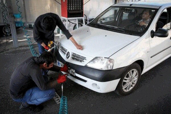 عکس خبري -افزايش ساعات کار مراکز تعويض پلاک در کرمانشاه