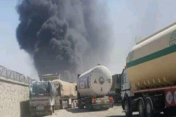آتشسوزي در مرز ماهيرود