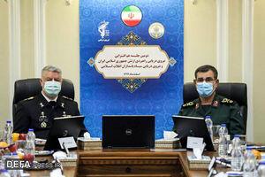 عکس خبري -نشست هم افزايي فرماندهان نيروي دريايي ارتش و سپاه