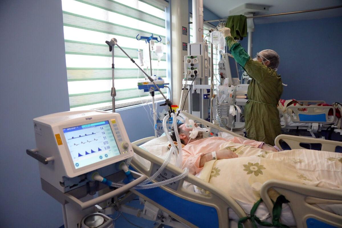 افزايش ? برابري مراجعات کرونايي به بيمارستانها
