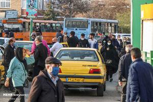 عکس خبري -آغاز برچسب گذاري نرخ جديد کرايه تاکسي