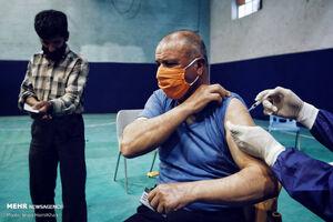 عکس خبري -پاکبانان ? منطقه جنوبي تهران واکسن کرونا دريافت نکردهاند