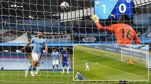 عکس خبري -عذرخواهي آگوئرو بعد از شکست برابر چلسي