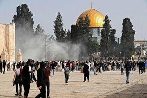 عکس خبري -يورش صهيونيستها به «مسجدالاقصي»/ بازداشت ?? نفر در کرانه باختري