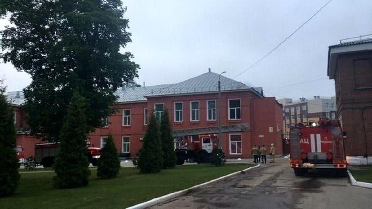 آتشسوزي در بيمارستاني در روسيه منجر به مرگ ? نفر شد