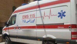 عکس خبري -تصادف مينيبوس در تهران ?? مصدوم داشت
