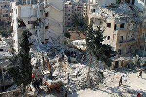 عکس خبري -حملات راکتي تکفيريها به حومه «حماه»/ زخمي شدن ?? غير نظامي
