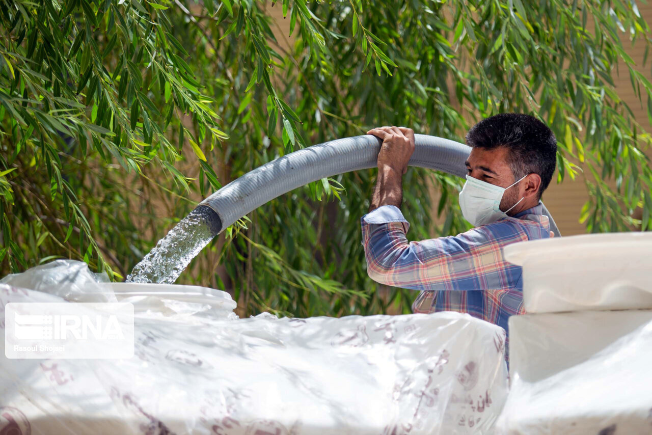 فرماندار: شهر کرمانشاه روزانه هزار ليتر در ثانيه کمبود آب شرب دارد
