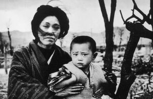 عکس خبري -76 سال از جنايت هولناک آمريکا در هيروشيما گذشت
