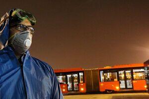 عکس خبري -فرسودگي ?? درصد اتوبوسهاي پايتخت
