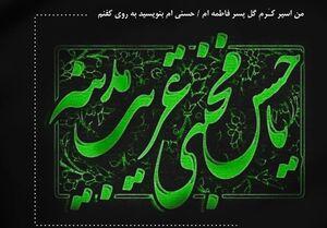 عکس خبري -شعر در سوگ شهادت امام حسن(ع)