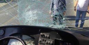 عکس خبري -تصادف مرگبار اتوبوسBRT در خط ويژه