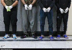عکس خبري -زمينگير شدن ? گروه از سارقان مسلح در تهران