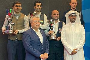 عکس خبري -سرخوش به مدال برنز اسنوکر جام جهاني دست يافت